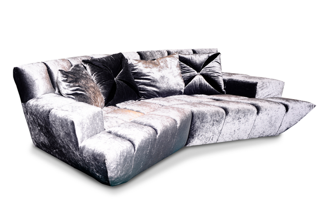 bretz cloud 7 beautiful modular sofa velvet leather. Black Bedroom Furniture Sets. Home Design Ideas