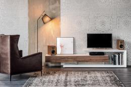 Meubles tv confortop for Parois murales modulables