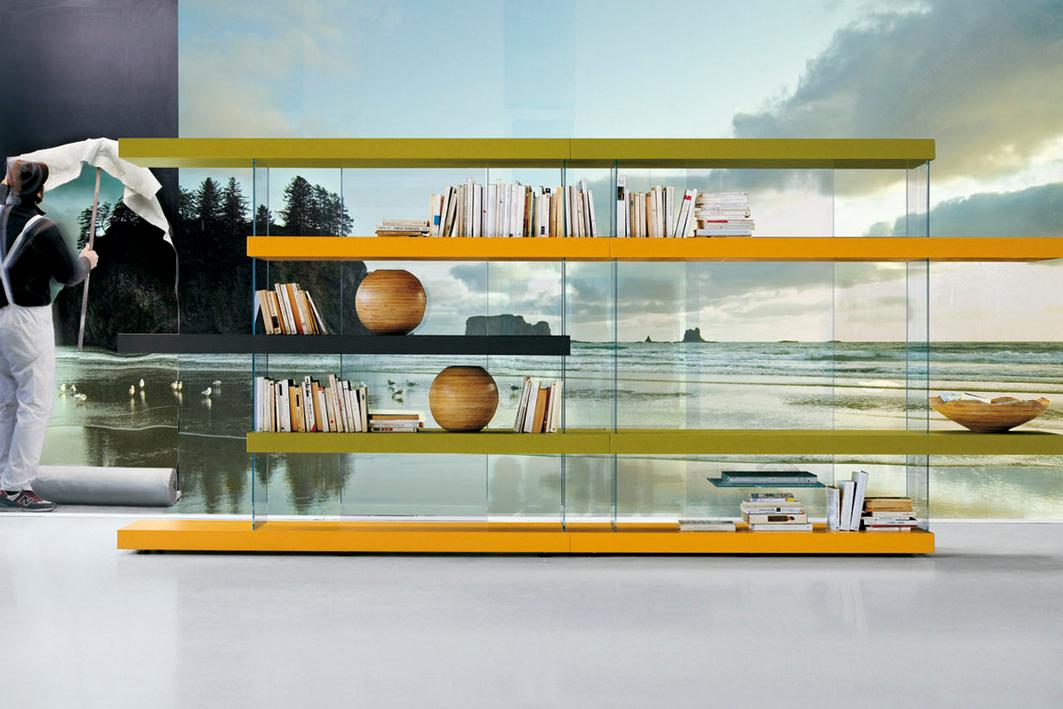 Bibliotheque suspendue air lago italia